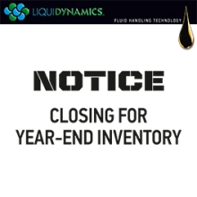NOTICE - CLOSING FOR YEAR-END INVENTORY