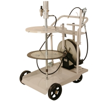 420 lb. Mobile Grease System w/ Cart & Reel