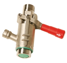 Coupler for Filling Closed Systems Using RSV Valves