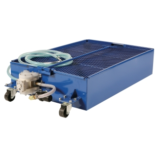Portable Used Oil Drain with On Board Pump